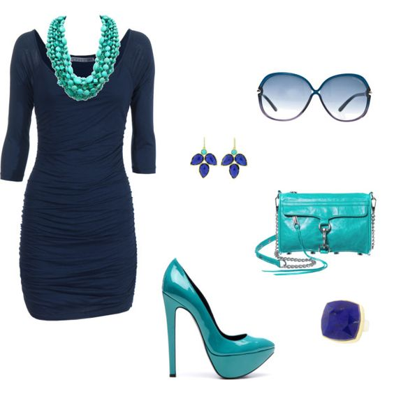 What Colour Bag And Shoes With A Turquoise Dress